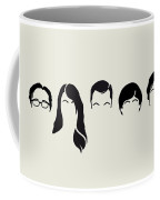 My-big-bang-hair-theory Coffee Mug by Chungkong Art