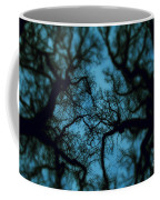 My Blue Dark Forest Coffee Mug