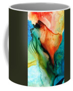 My Cup Runneth Over - Abstract Art By Sharon Cummings Coffee Mug