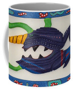 My First Fish Dinner Coffee Mug by Robert Margetts