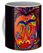 My Funny Little Clown Face - Color Love Coffee Mug