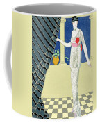 My Guests Have Not Arrived Coffee Mug by Georges Barbier