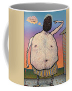 My Head Is A Raisin. Coffee Mug by James W Johnson