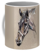 My Horse Portrait Drawing Coffee Mug