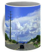 My House Over The Hill Under The Clouds Coffee Mug