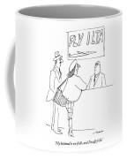 My Husband Is No-frills Coffee Mug