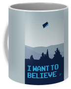 My I Want To Believe Minimal Poster- Tardis Coffee Mug