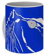 My Lady In Blue Coffee Mug
