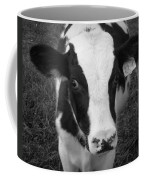 My Name Is Cow - Black And White Coffee Mug