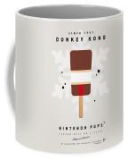 My Nintendo Ice Pop - Donkey Kong Coffee Mug by Chungkong Art