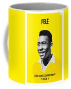 My Pele Soccer Legend Poster Coffee Mug