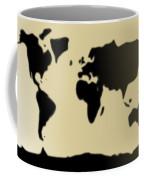 My #3 Simple World Coffee Mug