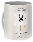 My Superhero Ice Pop - Rorschach Coffee Mug by Chungkong Art
