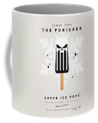 My Superhero Ice Pop - The Punisher Coffee Mug by Chungkong Art