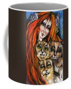 My Three Cats Coffee Mug