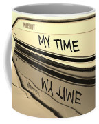My Time Boat Name Coffee Mug