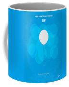 My Up Minimal Movie Poster Coffee Mug by Chungkong Art