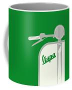 My Vespa - From Italy With Love - Green Coffee Mug