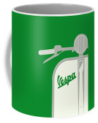 My Vespa - From Italy With Love - Green Coffee Mug