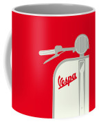 My Vespa - From Italy With Love - Red Coffee Mug