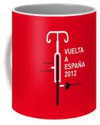 My Vuelta A Espana Minimal Poster Coffee Mug by Chungkong Art