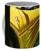 My Yellow Ferrari Coffee Mug