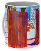 Mysterious Courtyard Coffee Mug