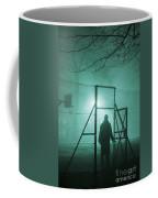 Mysterious Man At Night Coffee Mug