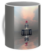 Mysterious Metallic Structure Coffee Mug