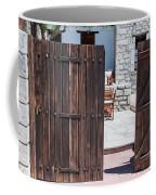 Mystery Courtyard Coffee Mug