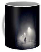 Mystery Man In Fog Coffee Mug