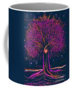 Mystic Spiral Tree 1 Pink By Jrr Coffee Mug