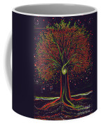 Mystic Spiral Tree Red By Jrr Coffee Mug by First Star Art