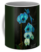 Mystique Blue Orchids Coffee Mug