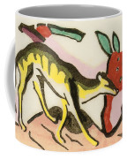 Mythical Animal  Coffee Mug by Franz Marc