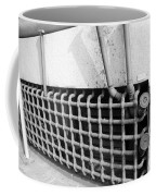 N Y C Grates In Black And White Coffee Mug