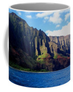 Na Pali Coast On Kauai Coffee Mug