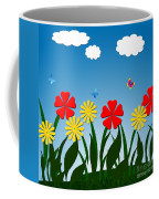 Naive Nature Scene Coffee Mug