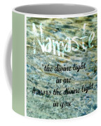 Namaste With Crystal Waters Coffee Mug