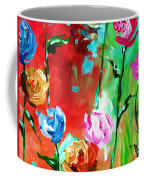 Nancy's Flowers Coffee Mug