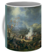 Napoleon 1769-1821 Visiting A Bivouac On The Eve Of The Battle Of Austerlitz, 1st December 1805 Coffee Mug