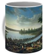 Napoleon Before The Battle Of Wagram, 6th July 1809 Coffee Mug