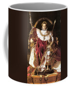 Napoleon I On His Imperial Throne Coffee Mug