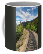 Narrow Gauge Tracks In Silver Country Coffee Mug