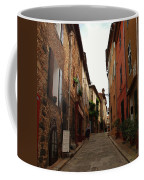 Narrow Street In Provence Coffee Mug