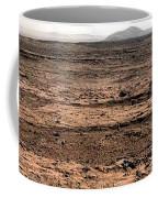Nasa Mars Panorama From The Mars Rover Coffee Mug