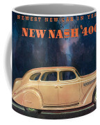 Nash 400 - Vintage Car Poster Coffee Mug