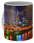 Nashville Is A Colorful Town Coffee Mug