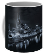 Nashville Skyline At Night Coffee Mug