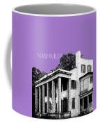 Nashville Skyline Belle Meade Plantation - Violet Coffee Mug